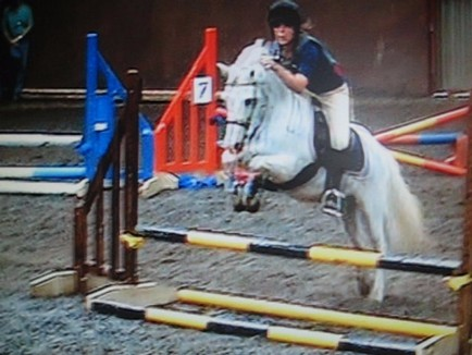 Snowy & Elle clear round joint 1st:D