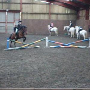 Me and Muddie - Jumping Lesson