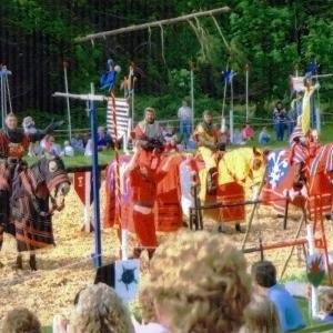 Richard Hazelden Jousting, Part of a Line up